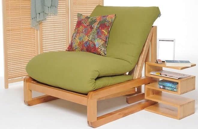 каркасное кресло-футон